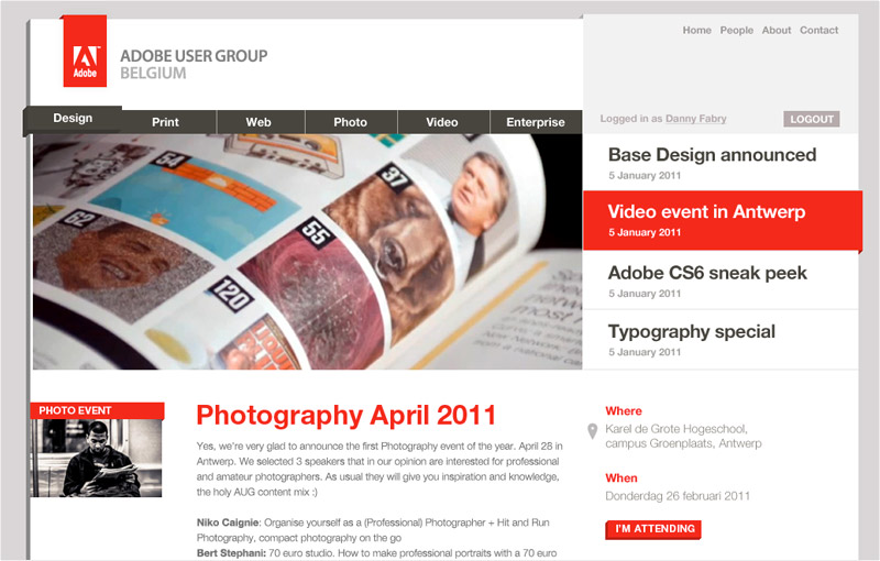 Adobe User Group